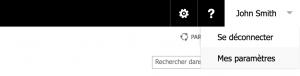 Vérification du profil de l'utilisateur SharePoint