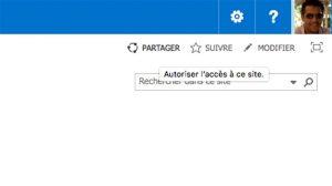 Partage de site SharePoint avec les utilisateurs externes
